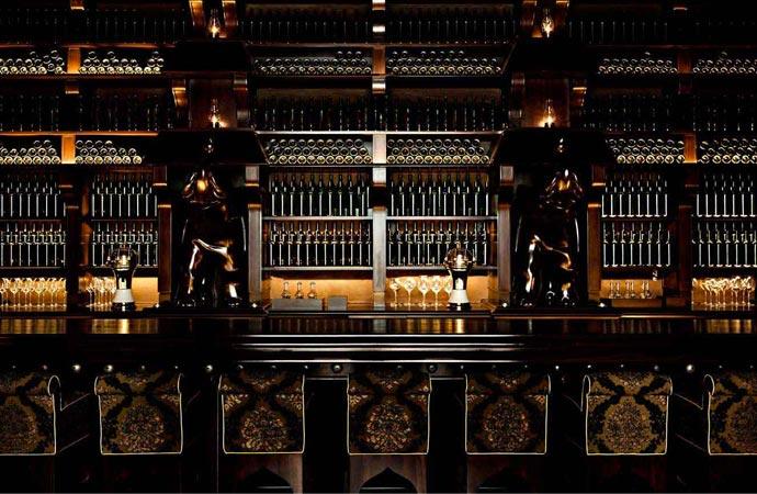 Bar at Nomad Hotel