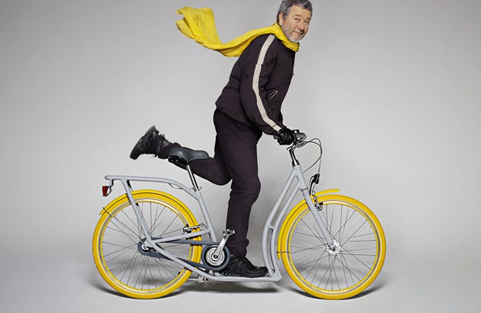 Philippe Starck and the Pibal bicycle