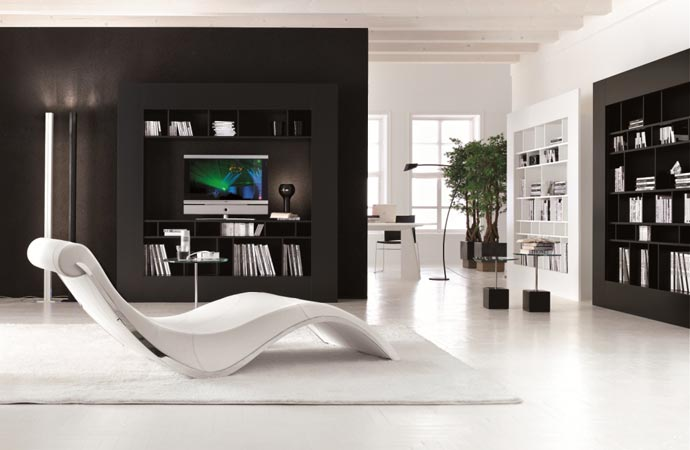 Chaise longue from Cattelan Italia