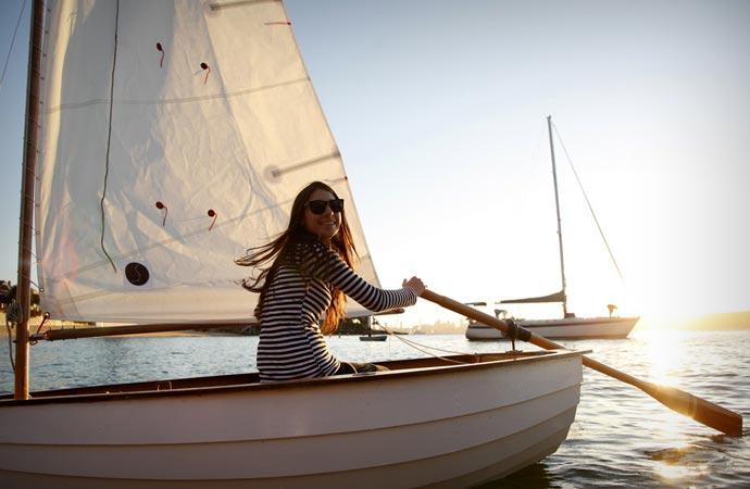 DIY sailboat and rowboat from The Balmain Boat Company