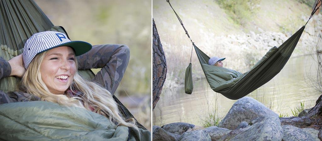 Bison Bag Sleeping bag hammock