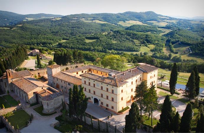 Castello Di Casole in Tuscany