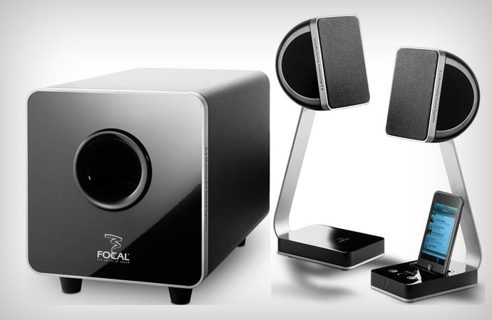Focal XS multimedia speakers
