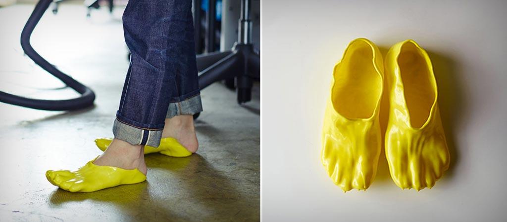 Fondue slippers