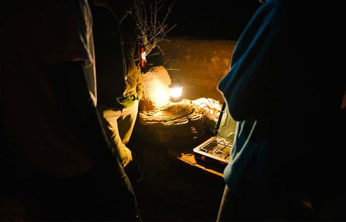 Camp lantern from Goal Zero