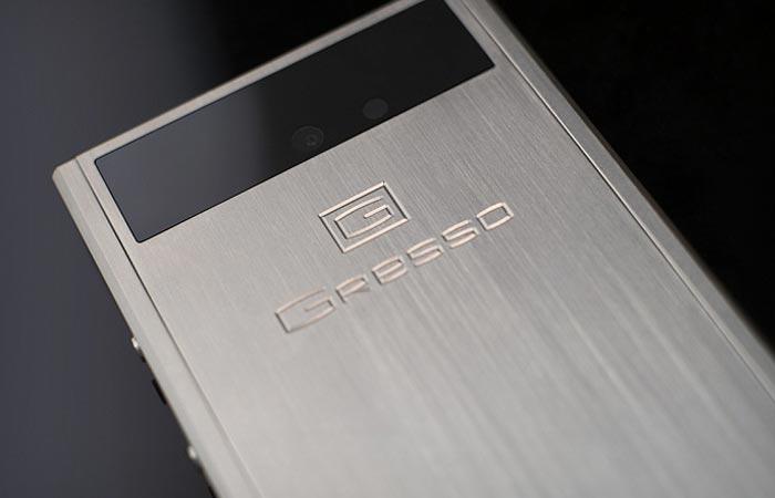 Titanium casing of the Gresso Radical R1
