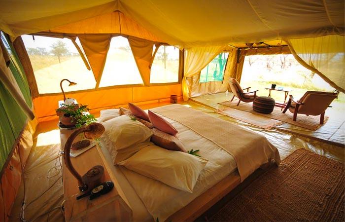 Room at Kicheche Bush Camp in Kenya