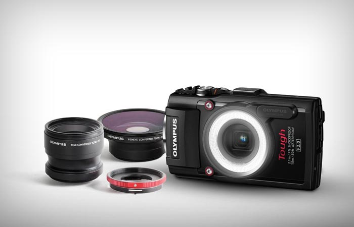 Olympus Tought TG-3 lenses