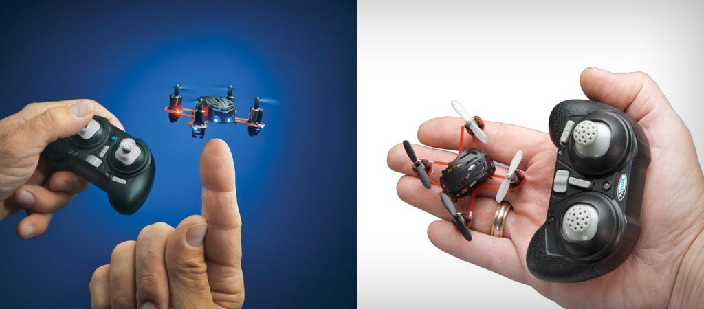 Proto nano quadcopter