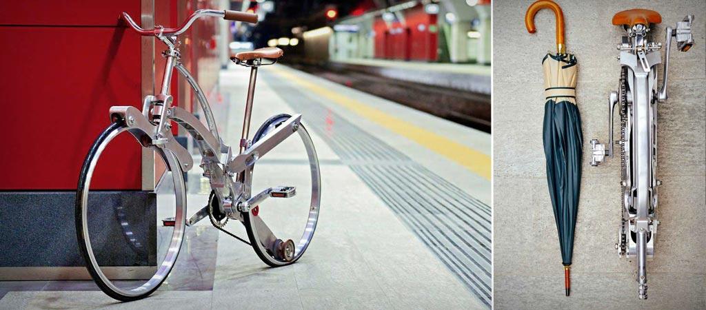 Sada collapsible bike