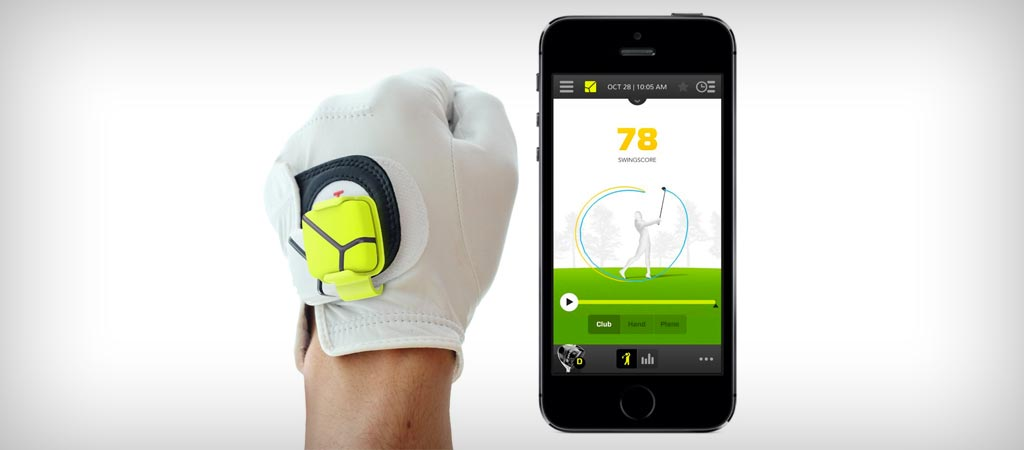 Zepp golf training system