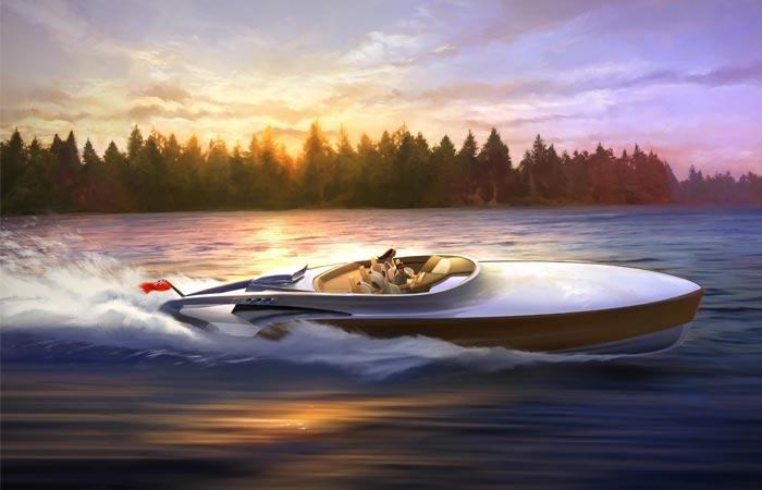 Claydon Reeves Aeroboat superyacht