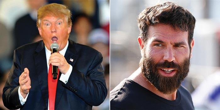 Dan Bilzerianhelping Donald Trump's political campaign?