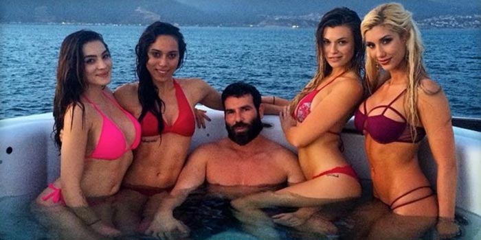 Dan Bilzerian is being called the new Hugh Hefner