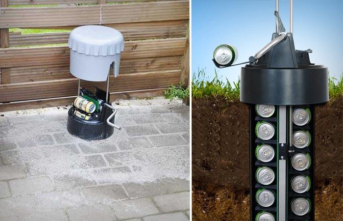 Ecool underground beer cooler