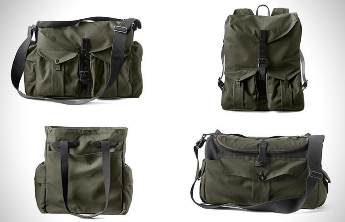 Filson Magnum camera backpacks