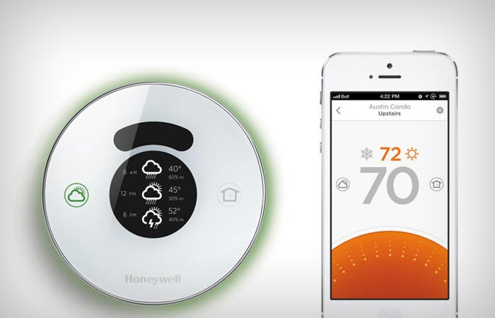 Smart thermostat from Honeywell