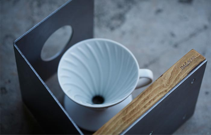 Pour-over coffee stand