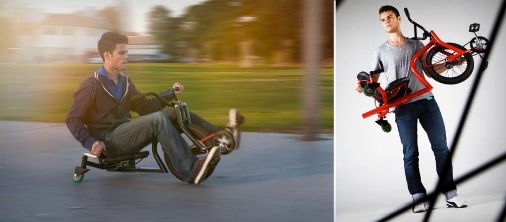 Leaux racing trike