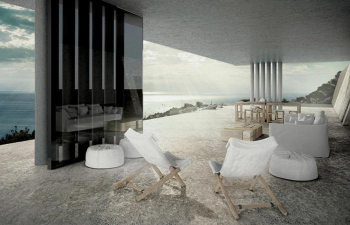 Mirage House interior design by Kois Architecture