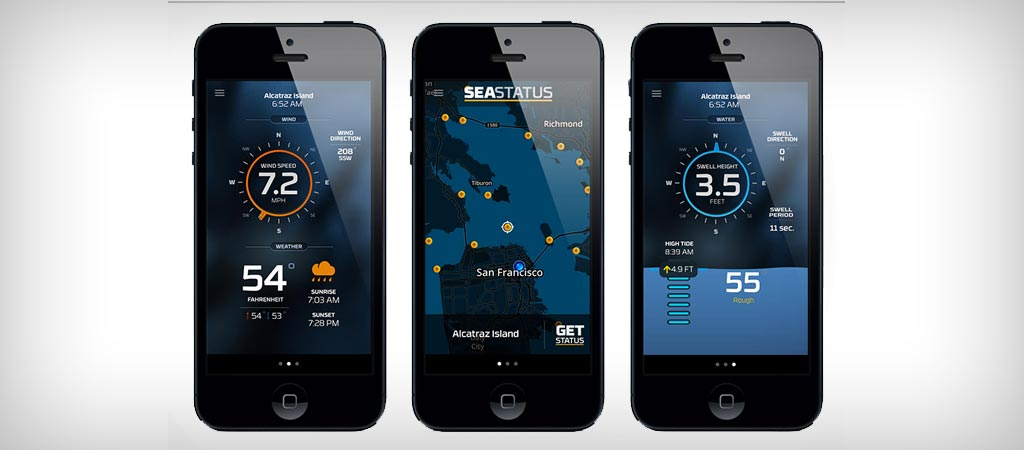 Seastatus app