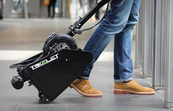 trikelet foldable electric scooter. Black Bedroom Furniture Sets. Home Design Ideas