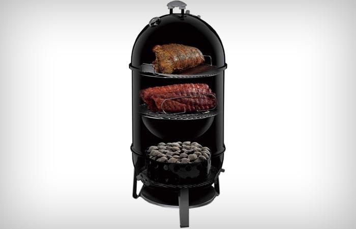 weber smokey mountain cooker smoker. Black Bedroom Furniture Sets. Home Design Ideas