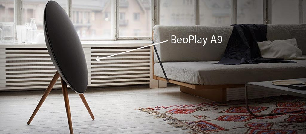 beoplay a9 by bang olufsen. Black Bedroom Furniture Sets. Home Design Ideas