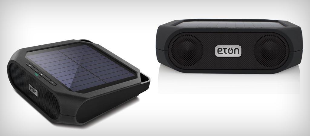Eton Rugged Rukus solar wireless speaker