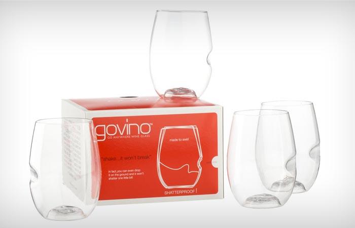 Govino flexible wine glasses