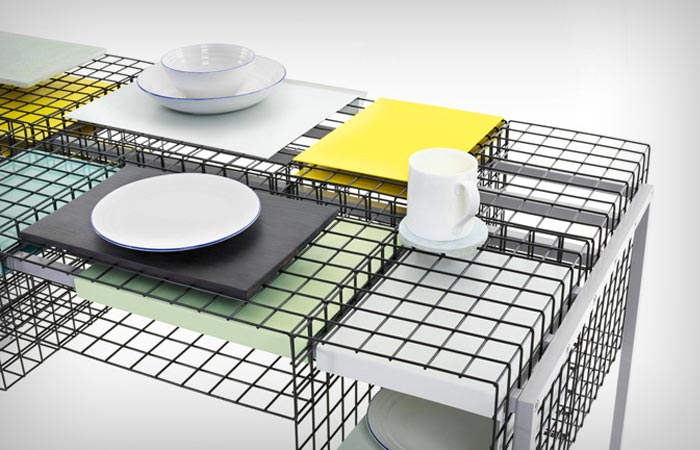 Grid Table by Ying Chang