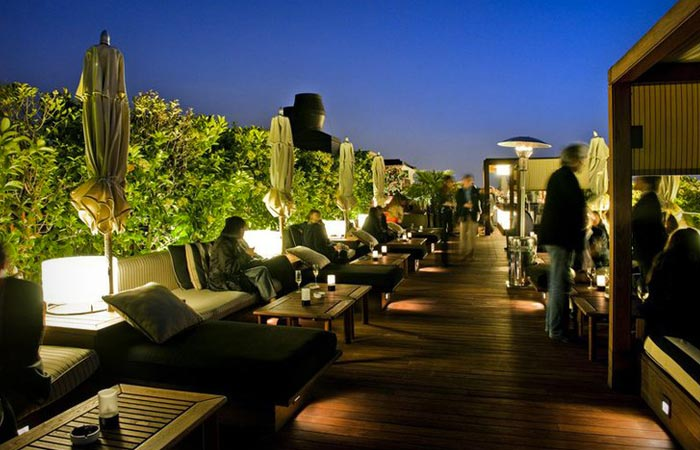 Hotel 1898 rooftop terrace