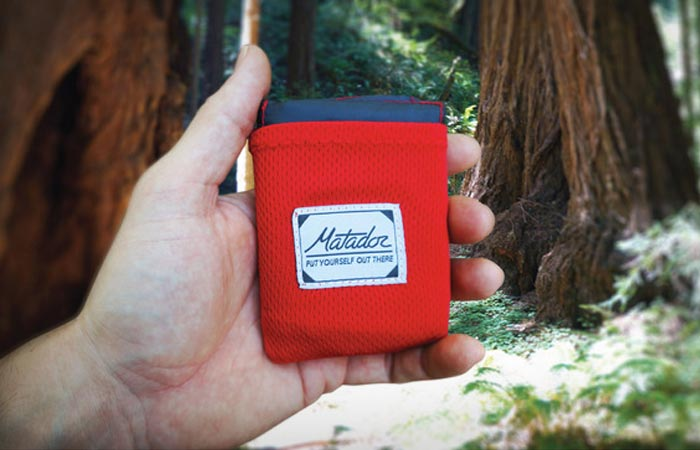Pocket blanket from Matador