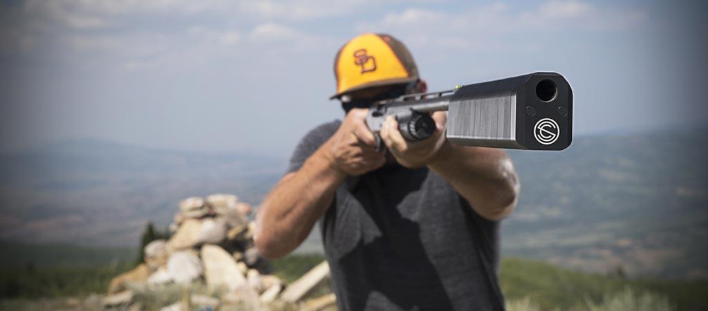 Shotgun silencer