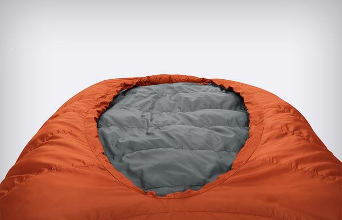 Bed-style sleeping bag