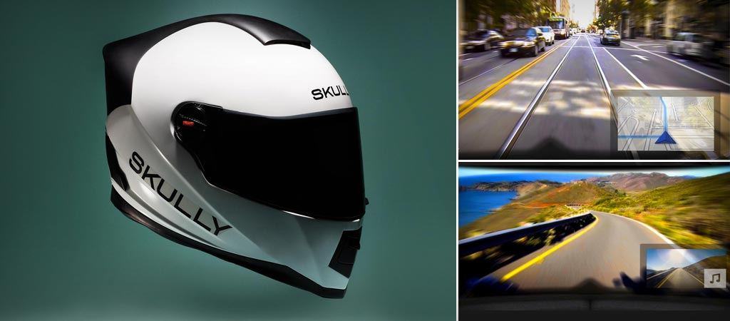 Skully AR-1 motorcycle helmet