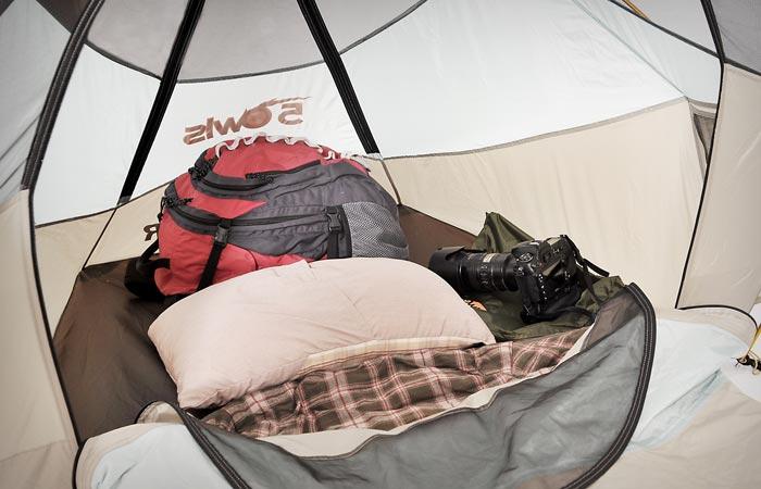 Solo Shelter interior