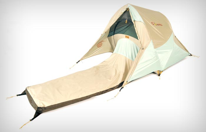 Solo Shelter sleeping bag and tent in one