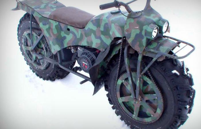 All-Terrain motorcycle from Russia