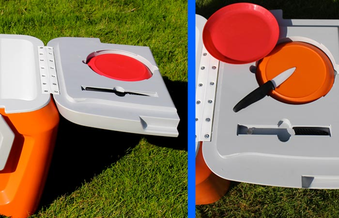 Coolest Cooler cutting surface
