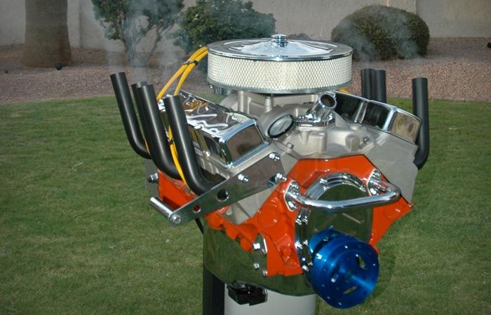V8 ENGINE BBQ GRILL BY HOT ROD GRILLS