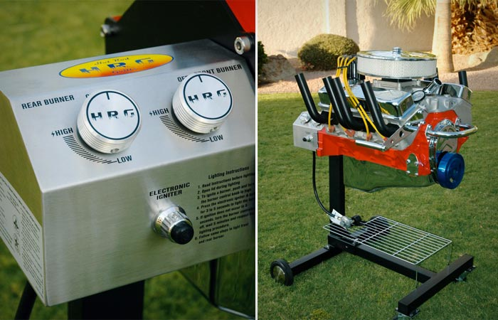 V8 ENGINE BBQ GRILL | BY HOT ROD GRILLS