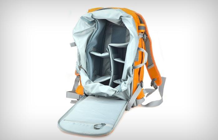 Bestek Nylon Backpack SLR DSLR Digital Camera Organizer Bag