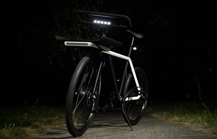 LED on Denny Bicycle