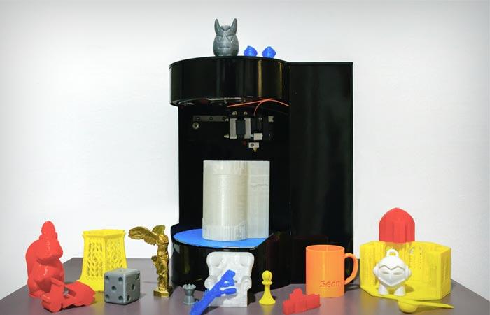 Genesis Rotary 3D Printer and Scanner