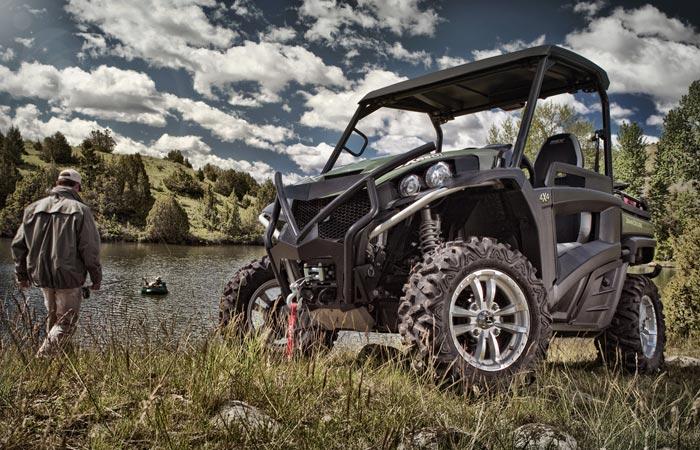 John Deere RSX850I Gator recreational vehicle