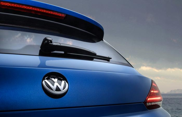 New VW Scirocco rear