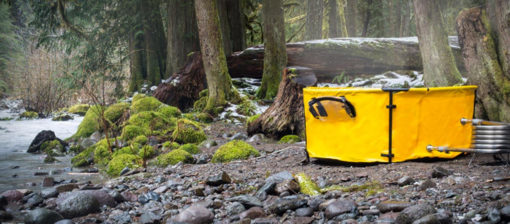 Nomad collapsible hot tub