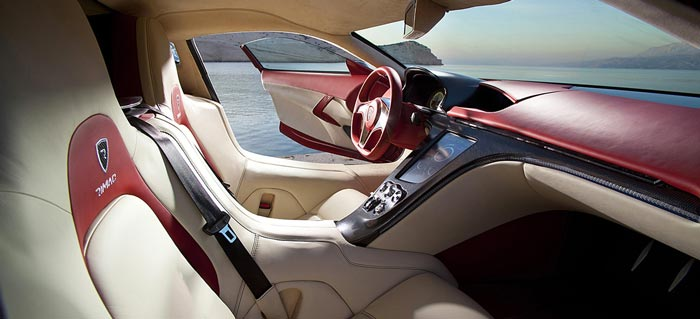 Inside the Rimac Concept One Electric Supercar