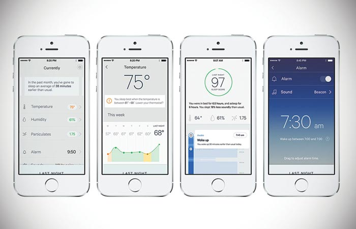 Sense sleep monitor app